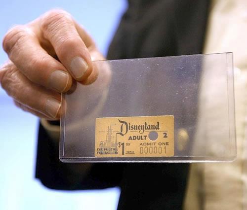 Primeiro Ingresso da Disney!